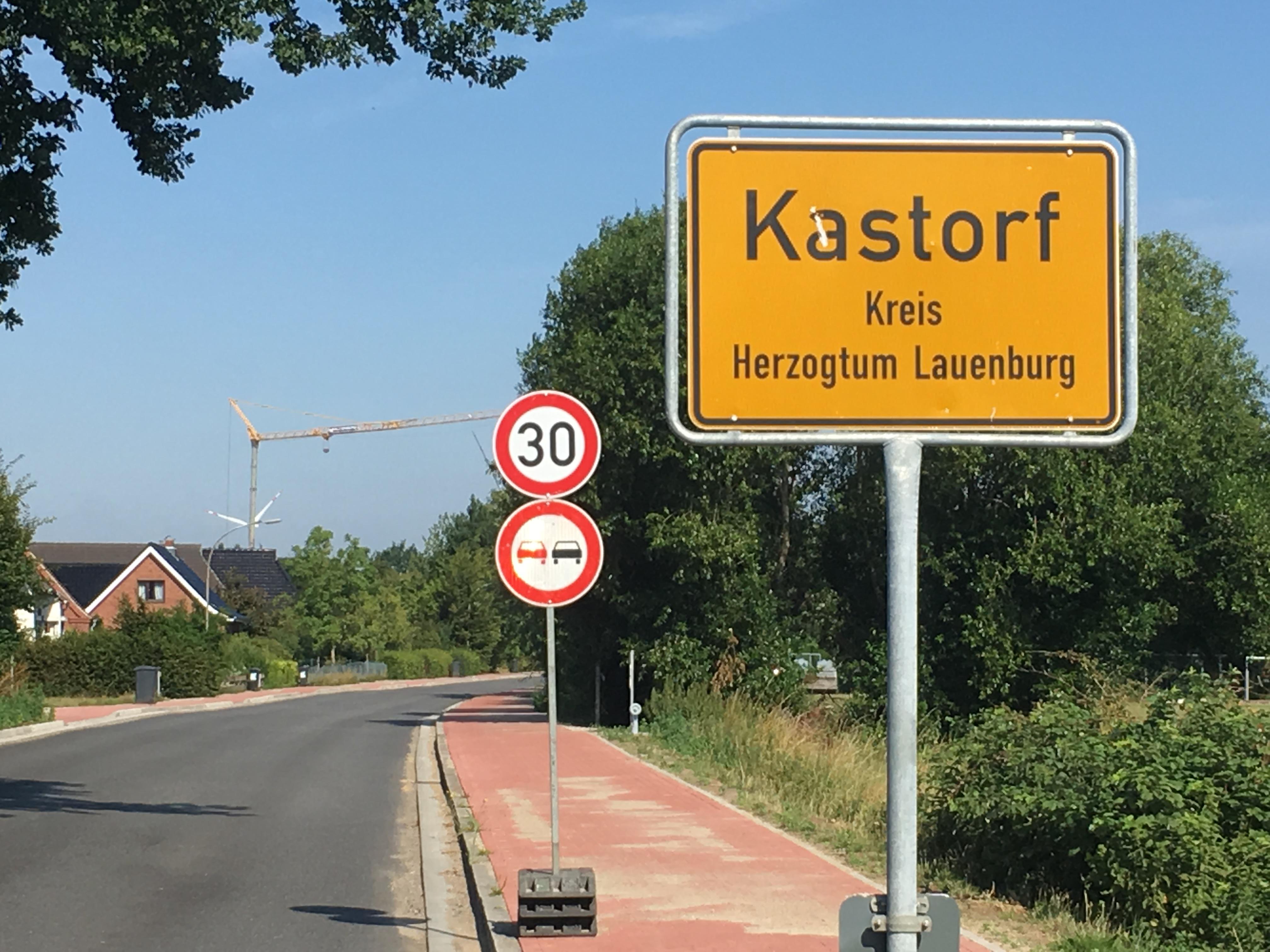 Kastorf: Ende Juli Vollsperrung Und Behinderungen Des Verkehrs In Der Ratzeburger Straße (Bundesstraße 208)